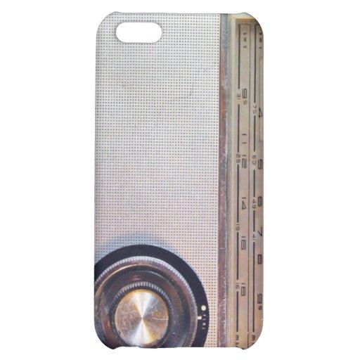 Retro Radio Transistor iPhone iPhone 5C Covers