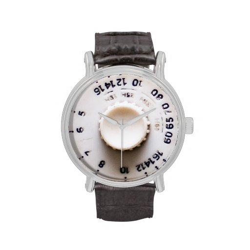 Retro radio wristwatch