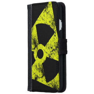 Retro Radioactive Wallet Phone Case For iPhone 6/6s