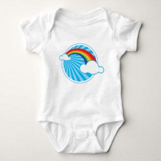 RETRO RAINBOW BABY BODYSUIT