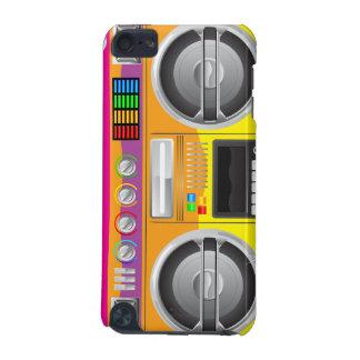 retro rainbow  boom box ghetto blaster boombox iPod touch 5G case