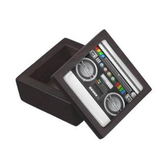 retro rainbow buttons boombox ghetto blaster premium jewelry boxes