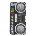 retro rainbow buttons boombox ghetto master iPhone 6 case