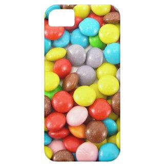 retro rainbow chocolate sweets design iPhone 5 cover