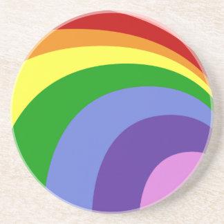 Retro Rainbow Coaster
