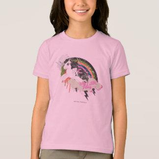 Retro Rainbow Design T-Shirt
