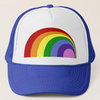 Retro Rainbow Hat