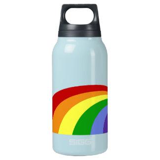 Retro Rainbow Insulated Water Bottle