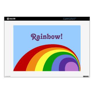 Retro Rainbow Laptop Skin