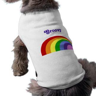 Retro Rainbow Pet Shirt