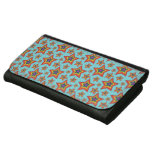 Retro Rainbow Stars Pattern Women's Wallets