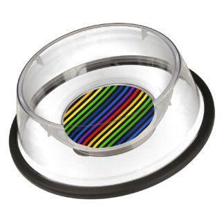 Retro Rainbow Stripes (2).jpg Bowl