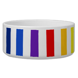 Retro Rainbow Stripes.jpg Bowl