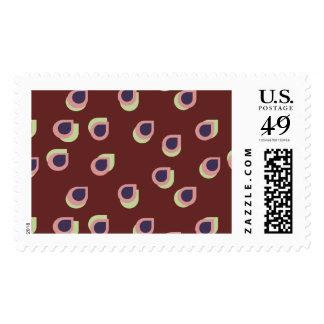Retro Raindrop Stamps