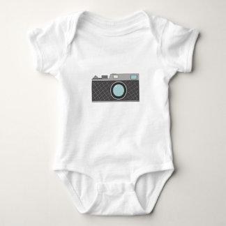 Retro Rangefinder Camera Baby Bodysuit