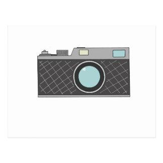 Retro Rangefinder Camera Postcard