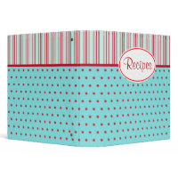 Retro Recipe Binder binder