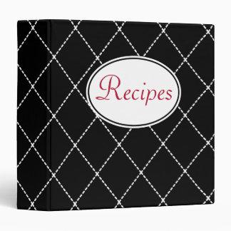 Retro Recipe Binder