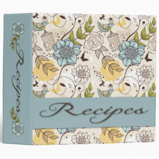 Retro Recipe Binder Design - 1B