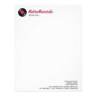Retro Records Letterhead