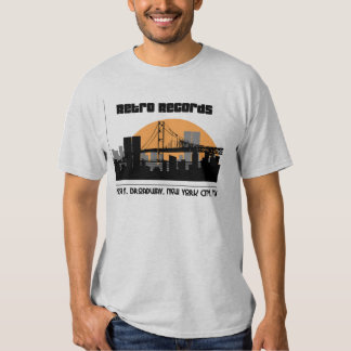 Retro records t shirt