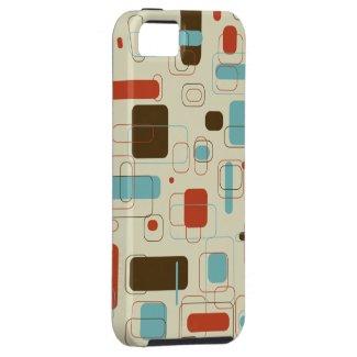 Retro Rectangles iPhone 5 Case