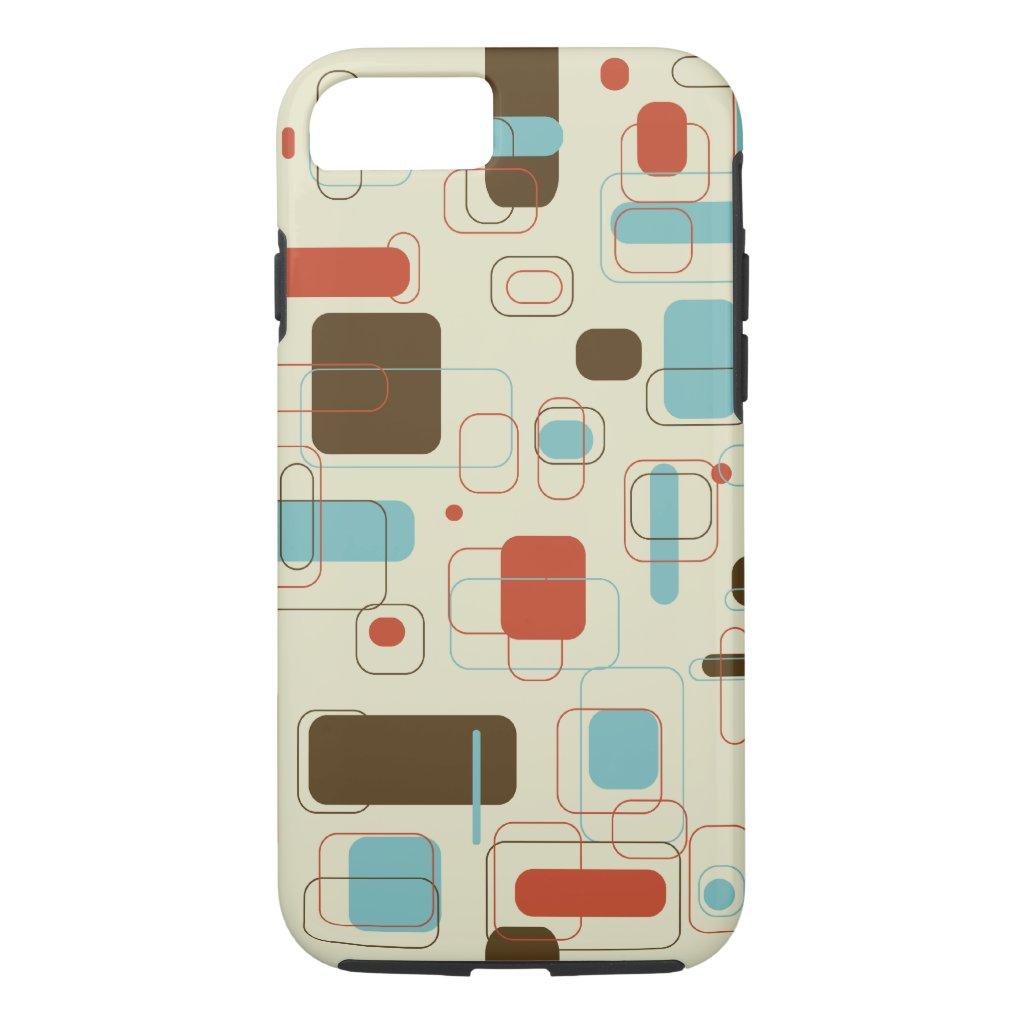 Retro Rectangles iphone case