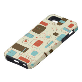 Retro Rectangles iPhone SE/5/5s Case