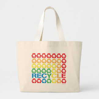 retro recycle tote bags