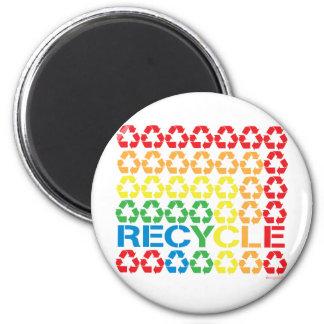 retro recycle magnet