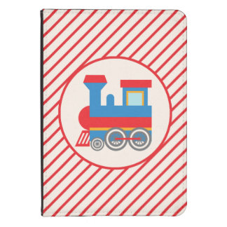 Retro Red and Blue Train Kindle 4 Case
