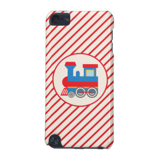 Retro Red and Blue Train iPod Touch (5th Generation) Case