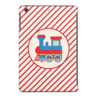 Retro Red and Blue Train iPad Mini Retina Cover