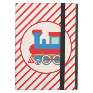 Retro Red and Blue Train iPad Air Cases