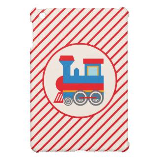 Retro Red and Blue Train Case For The iPad Mini