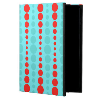 Retro Red and Turquoise Dots iPad Air 2 Case Powis iPad Air 2 Case