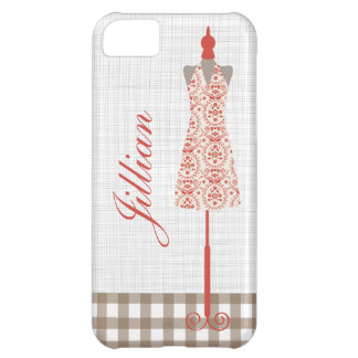 Retro Red Dress Form iPhone 5 Case
