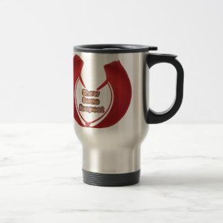 Retro Red Hakuna Matata Gifts show some respect.pn Travel Mug