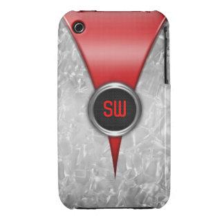 Retro Red iPhone 3G/3GS Case iPhone 3 Case-Mate Case