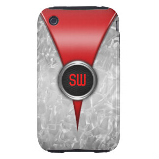Retro Red iPhone 3G/3GS Case Tough iPhone 3 Covers