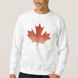 Retro Red Maple Leaf Sweatshirt