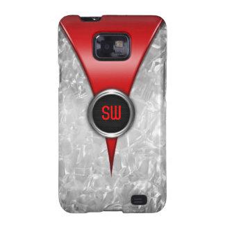 Retro Red Samsung Galaxy Case Samsung Galaxy S2 Cases