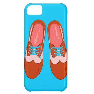 Retro Red Shoes iPhone 5C Cases