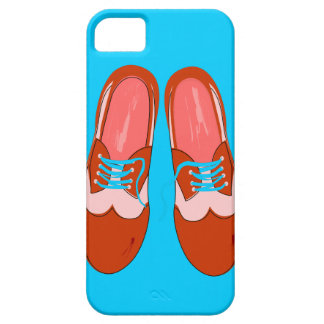Retro Red Shoes iPhone SE/5/5s Case