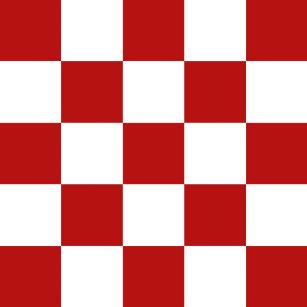 Retro Red White Checkers Ceramic Tiles 4 25 Sq
