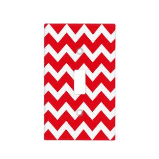 Retro RED Zig Zag Pattern Light Switch Cover