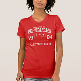 Retro Republican Election Team 1984 T-Shirt