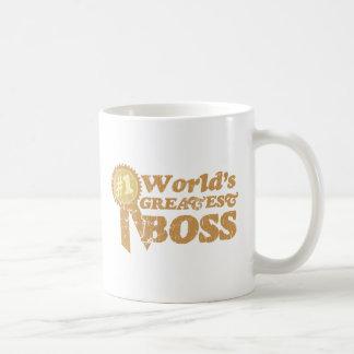 Retro Ribbon Great Boss Mug