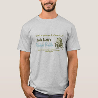 Retro 'Rickshaw Rental' T-Shirt