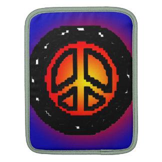 Retro Rickshaw Sleeve Peace Sign Sleeve For iPads